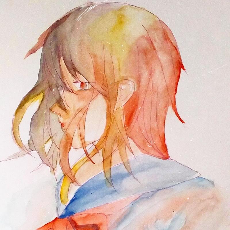 自我(カガ)・埼玉マンガカップ(めばえ)のイラスト2021