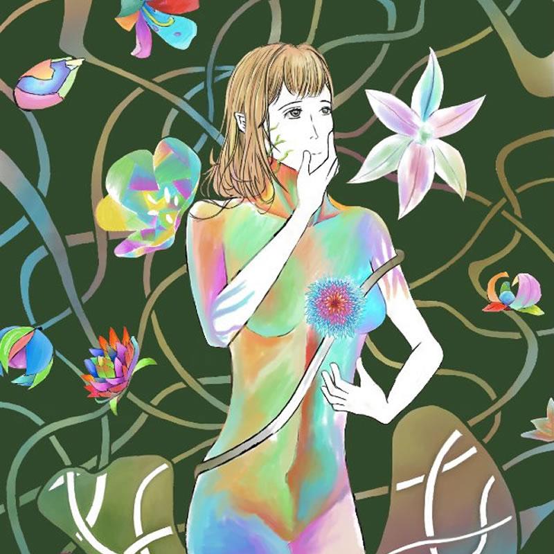 意識(ちょめ)・埼玉マンガカップ(めばえ)のイラスト2021