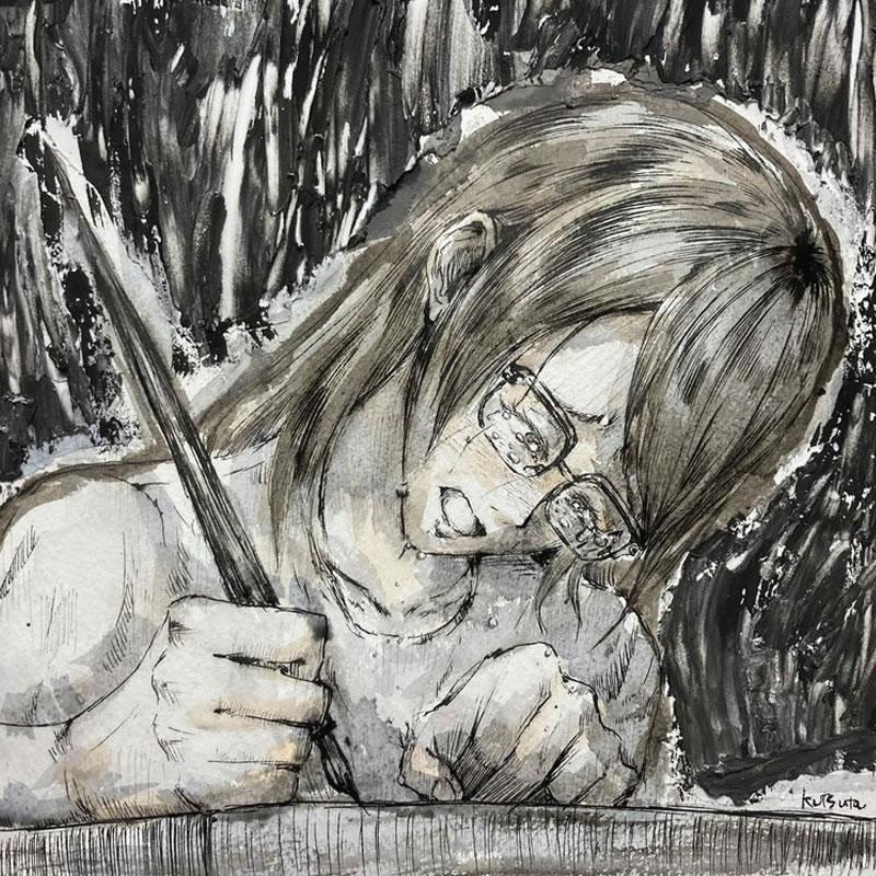 あの日知っていたもの(kutsuta)・埼玉マンガカップ(めばえ)のイラスト2021