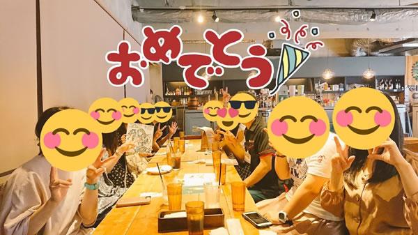 関西コミティア56でサークル参加がはじめての方を祝福!