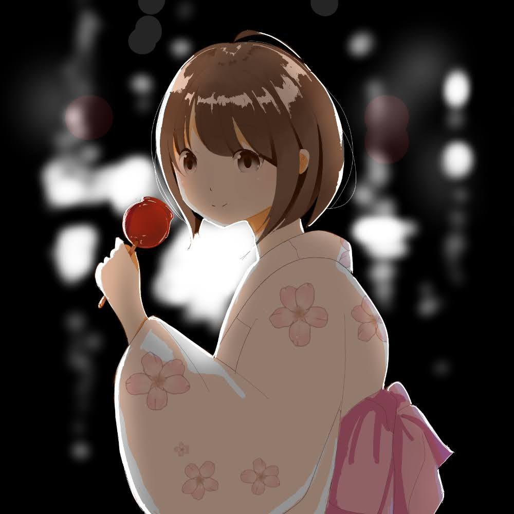 なつまつり(Yukio Nakano 様)・オンライン夏祭り2020のイラスト