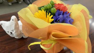 山本棗さま!ジャンプ+への読切が連載のお祝い花束
