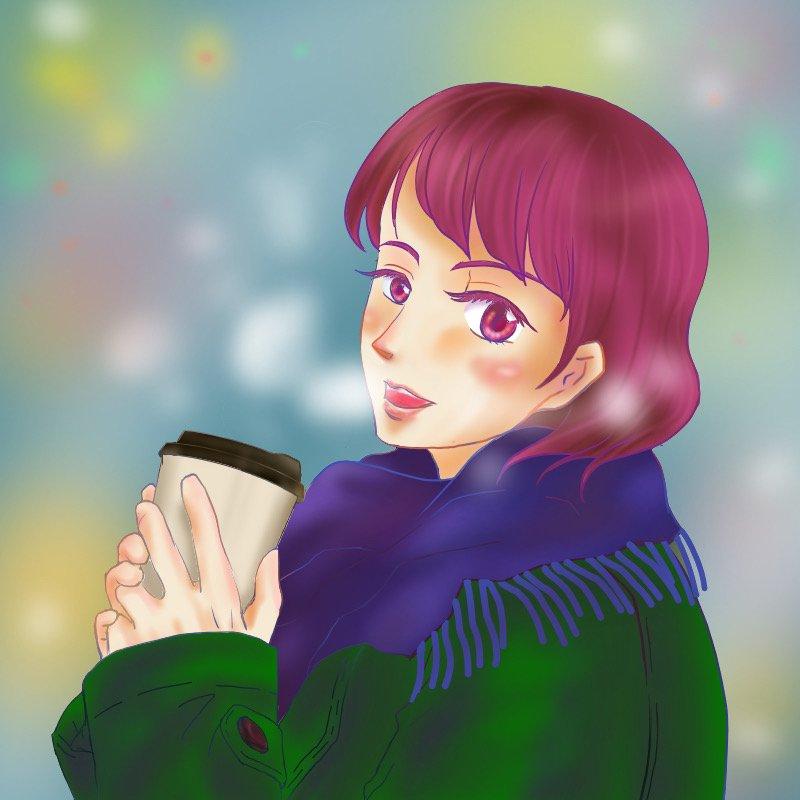 ほっとティー(はちきゅう)・埼玉マンガカップのイラスト2021