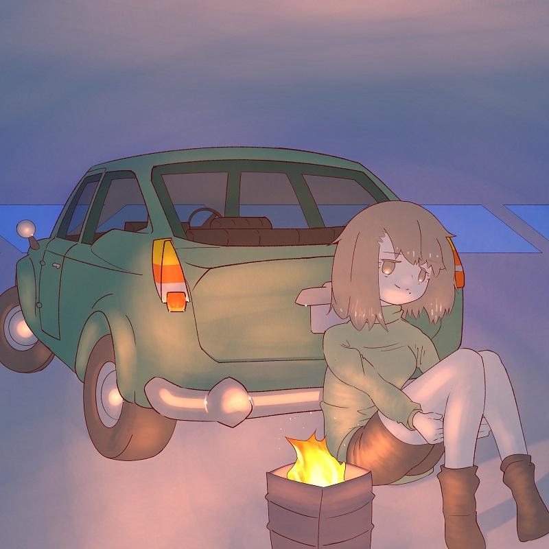 どこかの立駐(ヨクーツ)・埼玉マンガカップのイラスト2021