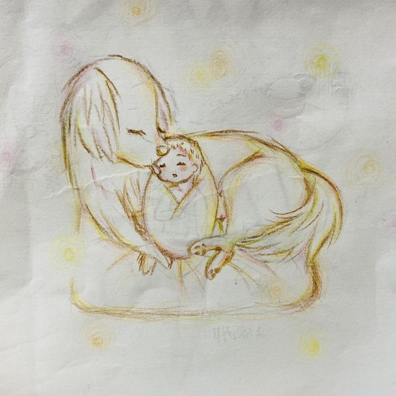 家族愛(お茶)・埼玉マンガカップのイラスト2021