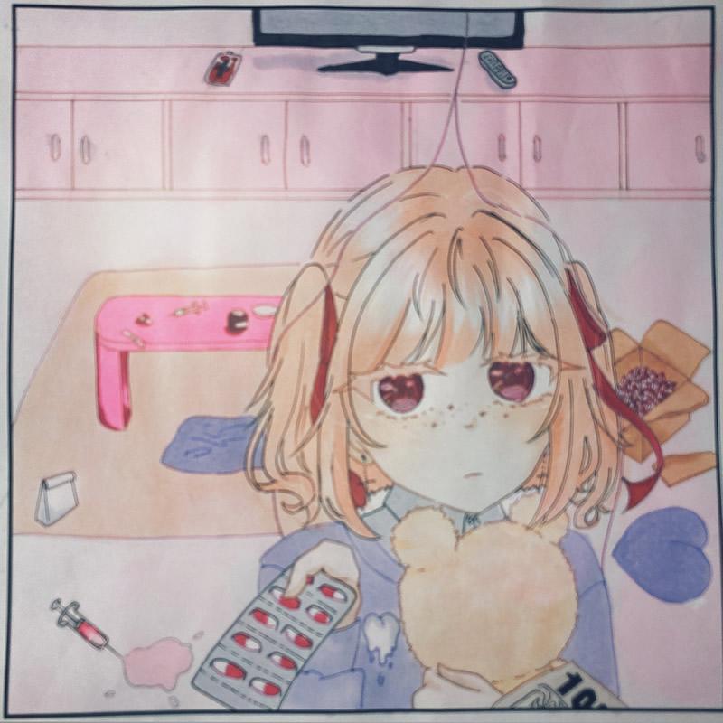 薬(ほのか)・埼玉マンガカップ(めばえ)のイラスト2021