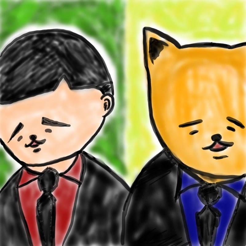 ギャングスターへの憧れ(柴丸)・埼玉マンガカップ(めばえ)のイラスト2021